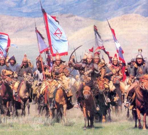 Vó ngựa quân Mông Cổ gieo rắc kinh hoàng khắp thế giới. (Ảnh từ internet)