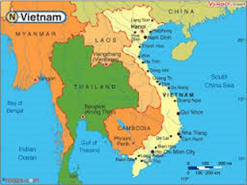 Bản đồ Việt Nam ngày nay. (Ảnh từ internet)