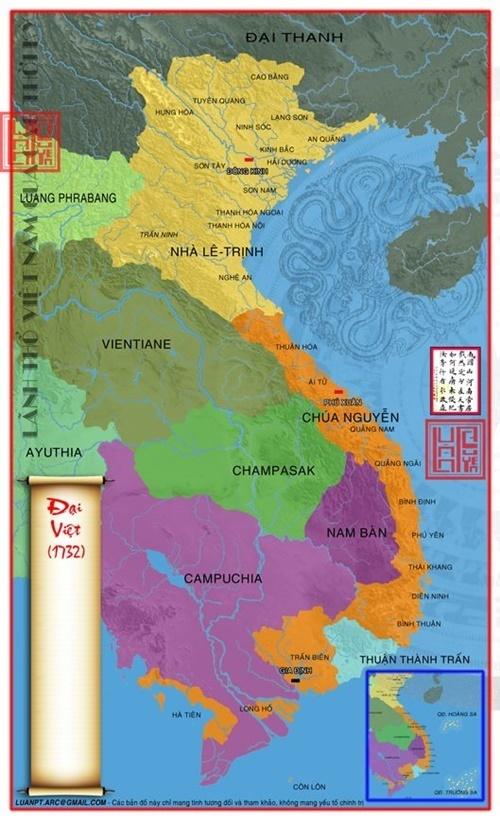 bản đồ Đại Việt