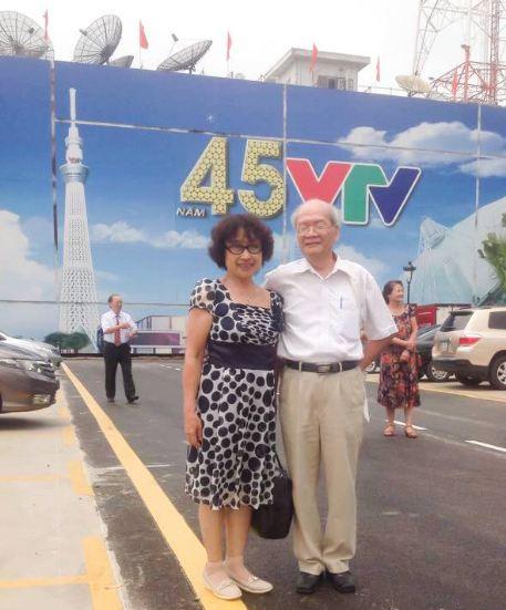 Ông Thanh và đồng nghiệp VTV
