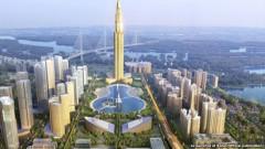 Hình ảnh đồ họa thành phố thông minh Nhật Tân-Nội Bài sẽ được xây dựng ở Hà Nội. Ảnh soha.vn