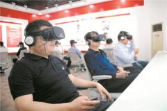 """Trung tâm kiểm tra """"đảng tính"""" áp dụng công nghệ Thực tế ảo VR đầu tiên tại Trung Quốc (Ảnh từ trang web của chính quyền thành phố Tân Châu, tỉnh Sơn Đông)"""