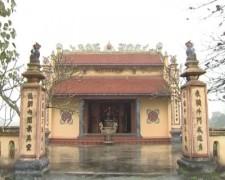 Đền thờ Phạm Đình Trọng tại làng Khinh Dao, xã An Thông, An Dương, Hải phòng.