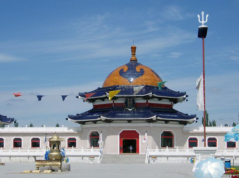 Lăng của Thành Cát Tư Hãn tại Ordos (Ngạc Nhĩ Đa Tư), Nội Mông Cổ, Trung Quốc. (Ảnh từ wikipedia.org)