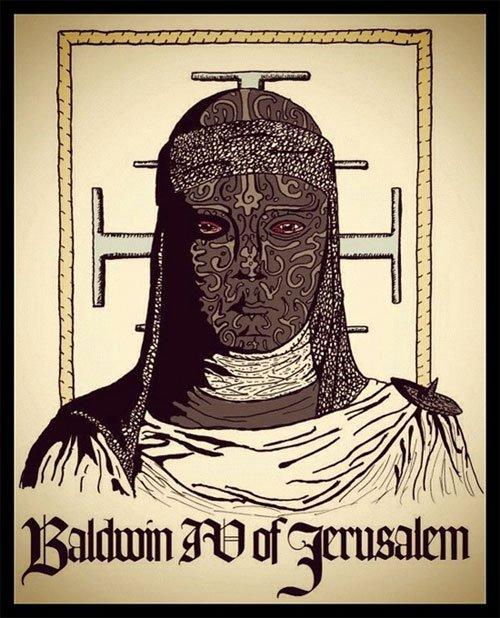 Nhiều sử gia cho rằng, nhà vua thực sự đã đeo mặt nạ bảo vệ như thế này chứ không chỉ trên phim ảnh. (Tranh từ pinterest