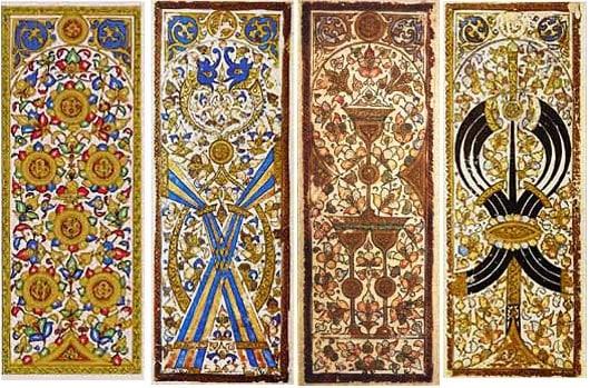 Các lá bài vào thế kỷ 16. (Ảnh từ Wikipedia)