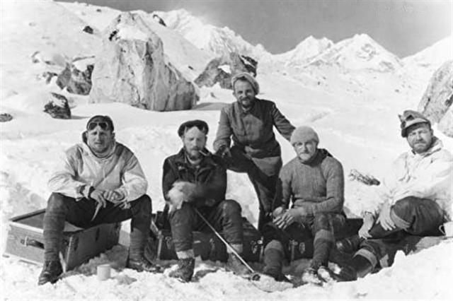 Tháng 1/1943, nhóm thám hiểm 5 người do vận động viên leo núi Heinrich Harrer dẫn đầu đã bí mật khởi hành đến Tây Tạng. (Ảnh: qua epochtimes.com)