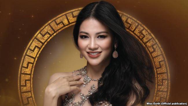 Nguyễn Phương Khánh, 23 tuổi, vượt qua 87 người đẹp khác để giành ngôi hoa hậu trong đêm chung kết Hoa hậu Trái đất 2018 hôm thứ Bảy tại Philippines.
