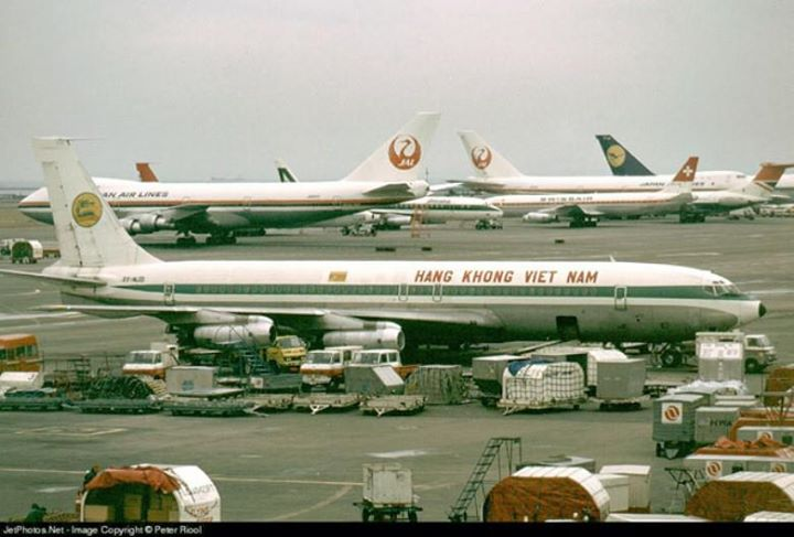Phi cơ Air Vietnam loại Boeing 707. Ảnh từ anhxua.vn