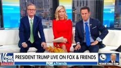 Tổng thống Mỹ Donald Trump có cuộc trả lời phỏng vấn qua điện thoại trên kênh Fox sáng 22/11. (Ảnh: Fox)