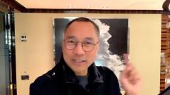 """Quách Văn Quý nói rằng: """"Tin vào ĐCSTQ thì chỉ có đi vào nhà hỏa táng"""". (Ảnh chụp video)"""