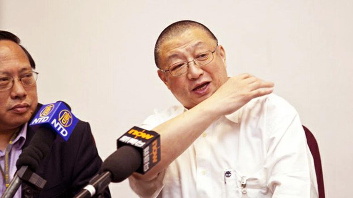 """Thế hệ thứ hai của ĐCSTQ Trần Bình đã chấp nhận một cuộc phỏng vấn độc quyền với truyền thông Hoa Kỳ và nói về câu chuyện """"thảo luận về quyền lực của Tập Cận Bình"""". (Ảnh: NTDTV)"""