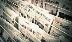 """Sự ra mắt của """"Liên minh Nghị viện xuyên quốc gia về Chính sách Trung Quốc"""" được báo chí khắp nơi trên thế giới đưa tin ngay sau khi tuyên bố thành lập. (Ảnh: IPAC)"""