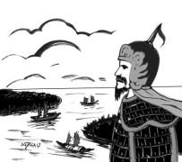 (Tranh minh họa của họa sĩ Sỹ Hòa, báo Bình Phước Online)