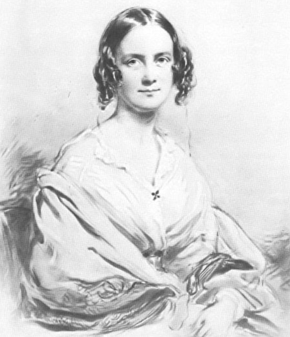 Hình: Vợ của Darwin, Emma.