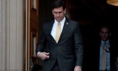 Bộ trưởng Quốc phòng Hoa Kỳ Mark Esper vừa bị sa thải vào ngày 9/11/2020. (Getty Images)