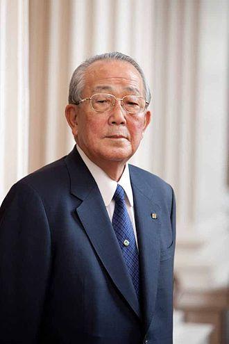 Inamori Kazuo năm 2011 khi ông 80 tuổi. (Ảnh: Science History Institute, Conrad Erb/Wikipedia, CC BY-SA 3.0)