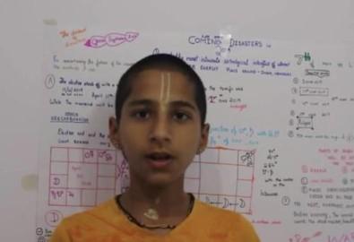 Thần đồng Anand, Ảnh từ youtube.com